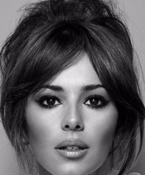 Cheryl Cole Wedding Hairstyle: 50 Flirty Hairstyles With Bangs