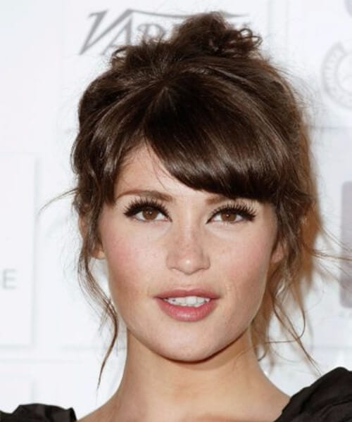 gemma arterton hairstyles with bangs