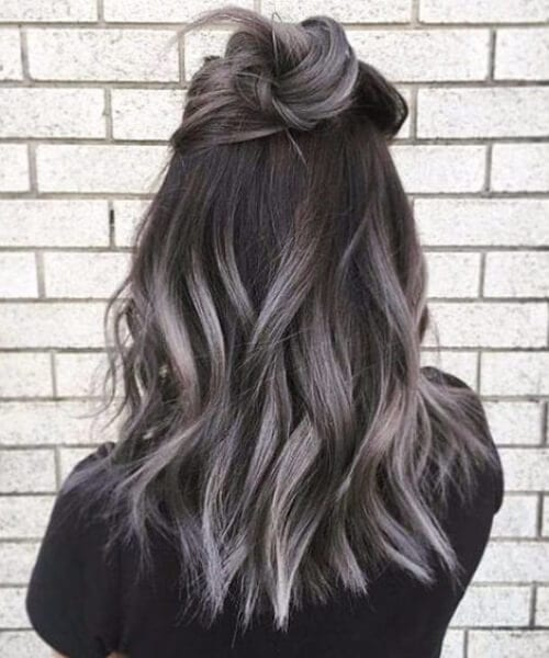 gray skies fall hair colors