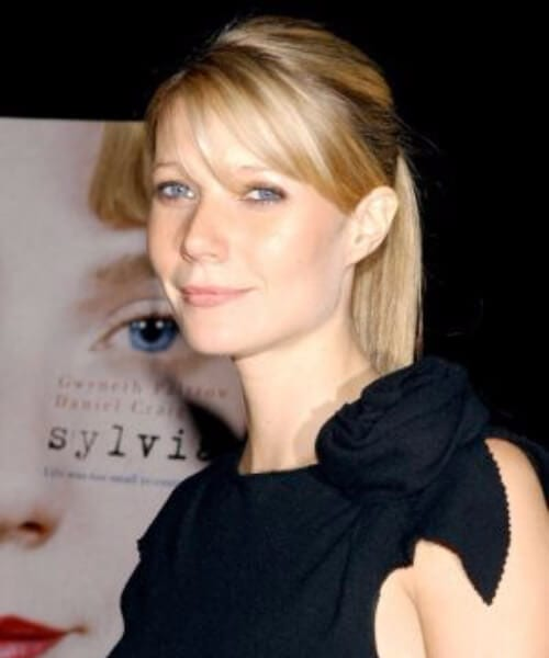 gwyneth paltrow hairstyles with bangs