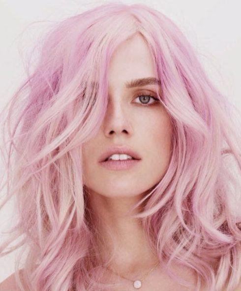 heliotrope plum hair color