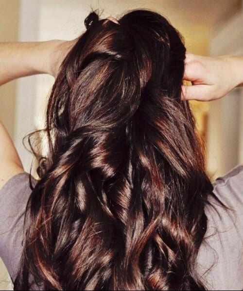 hot chocolate fall hair colors