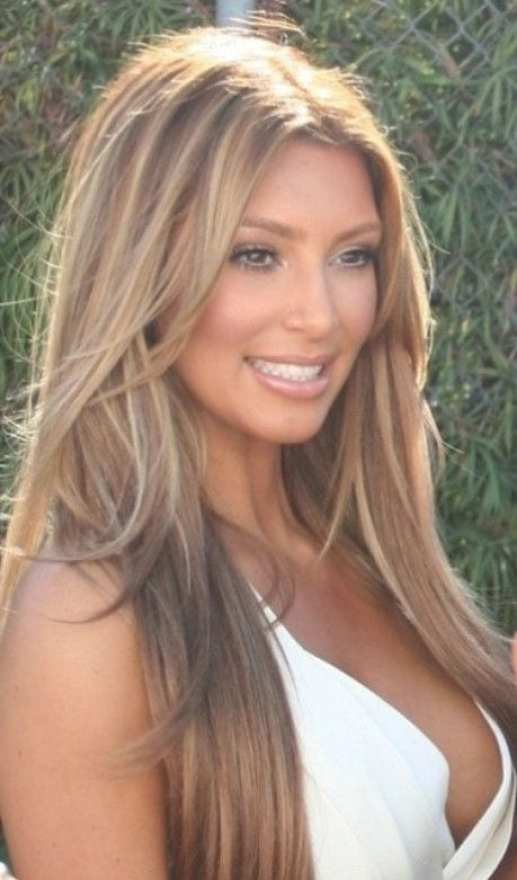 50 fashionable ideas for brown hair with blonde highlights my kim k brown hair blonde highlights pmusecretfo Image collections
