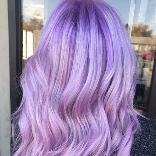light amethyst plum hair color