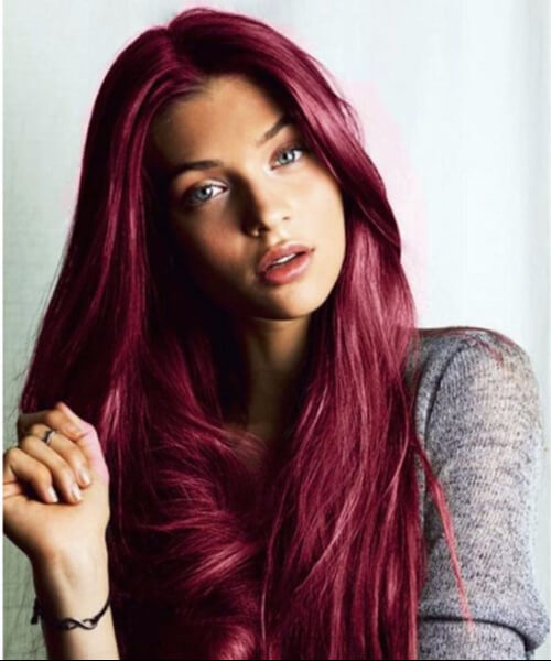 mulberry plum hair color