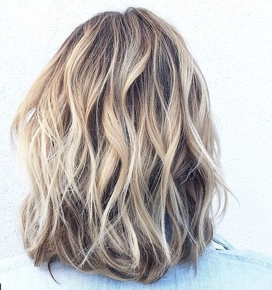 neutral pale blonde highlights and lowlights brown hair with blonde highlights