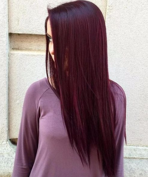Sweet Plum Hair Color Ideas My New Hairstyles - Hairstyle color pic