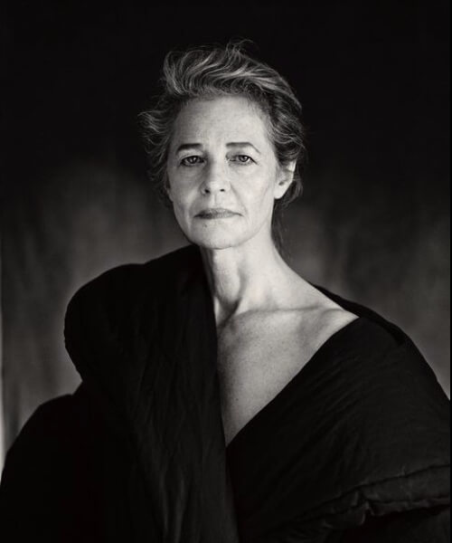 Charlotte Rampling hairstyles for women over 60