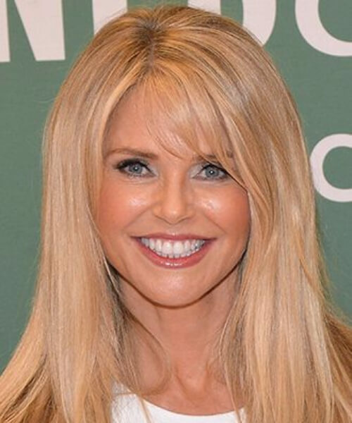christie brinkley hairstyles for women over 60