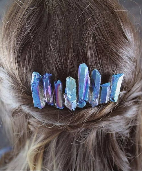 crystals wedding hairstyles for long hair