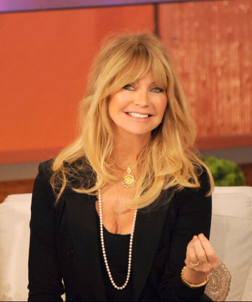 goldie hawn hairstyles for women over 60
