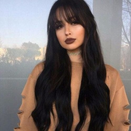50 superb long hair with bangs recommendations  my new