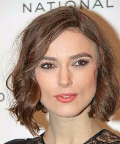 keira knightely asymmetrical bob