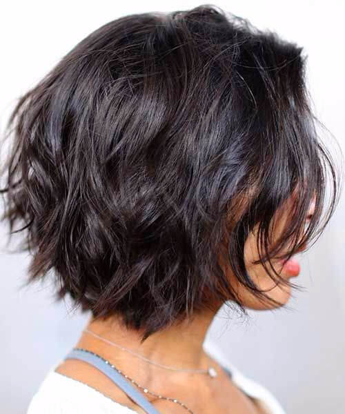 short layered styles for thick hair 55 ravishing hairstyles for thick hair my new 6825 | layered short hairstyles for thick hair