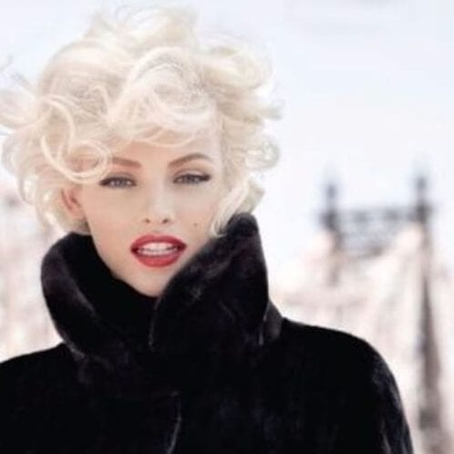 marylin impersonation short hairstyles for thick hair