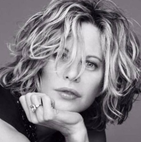 meg ryan short hairstyles for thick hair