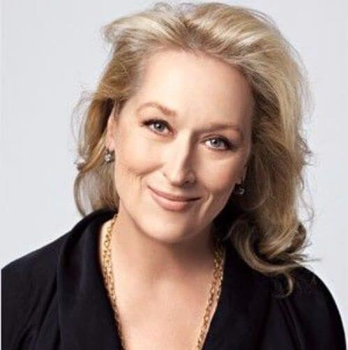 meryl streep hairstyles for women over 60