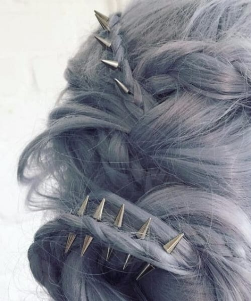 spikes wedding hairstyles for long hair