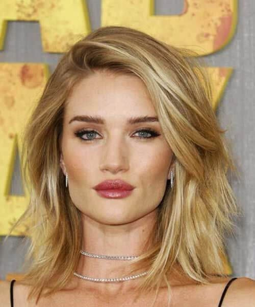 rose huntington whiteley long bob haircuts