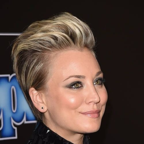 kaley cuoco prom hairstyles for short hair