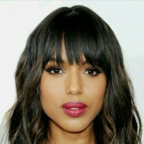 kerry washington bob hairstyles for black women