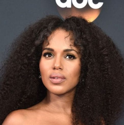 kerry washington long curly hairstyles
