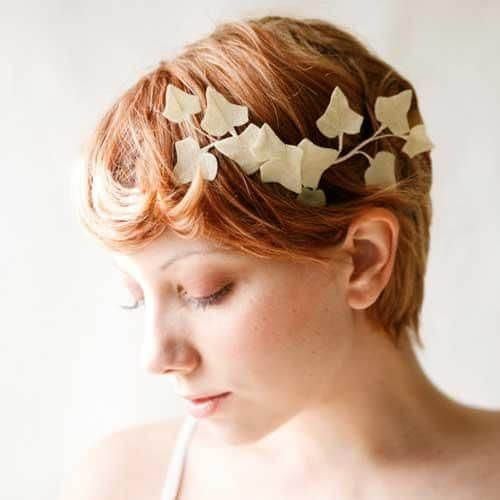 leaf prom hairstyles for short hair