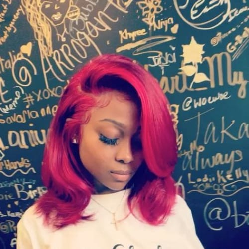 55 Swaggy Bob Hairstyles for Black Women - My New Hairstyles