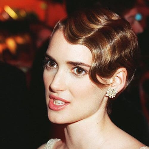 winona ryder prom hairstyles for short hair
