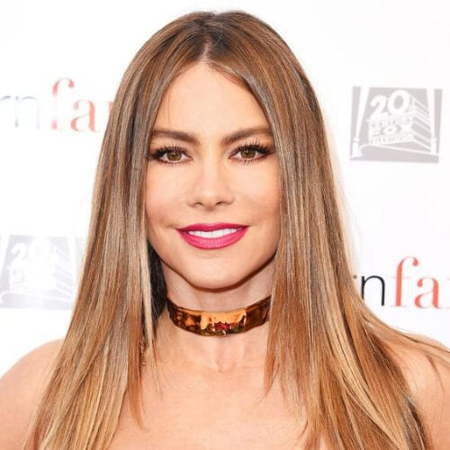 sofia vergara honey brown hair