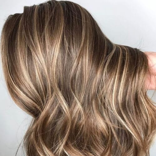 blonde on brown highlights and lowlights & 50 Creative Highlights and Lowlights Ideas - My New Hairstyles