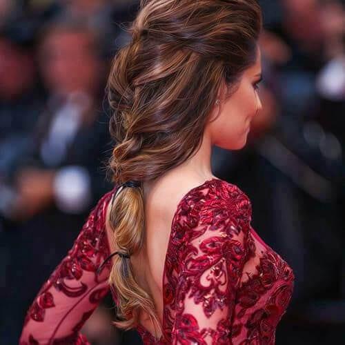 cheryl cole braid hairstyles for long hair