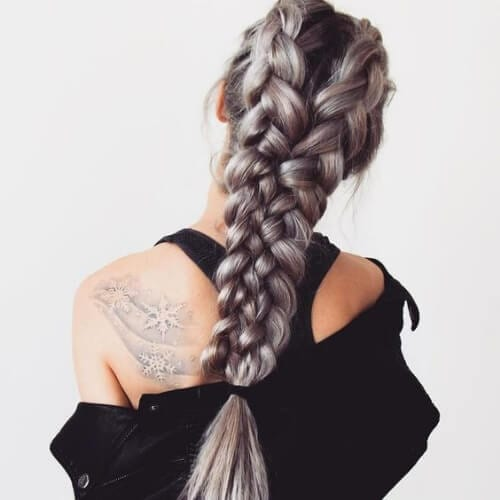 four strand braid hairstyles for long hair