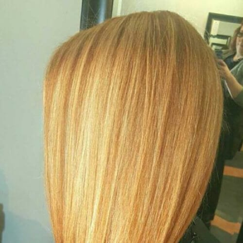 strawberry blonde low highlights and lowlights