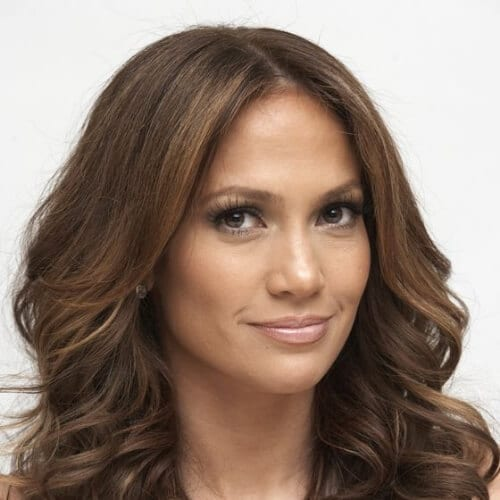 jennifer lopez chestnut hair color