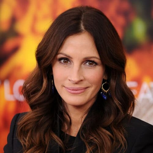 julia roberts chestnut brown hair