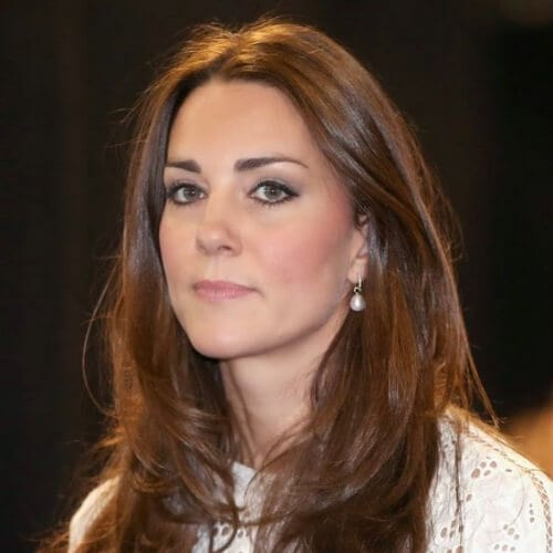 kate middleton chestnut hair color