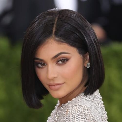 Kylie Jenner short haircuts for straight hair