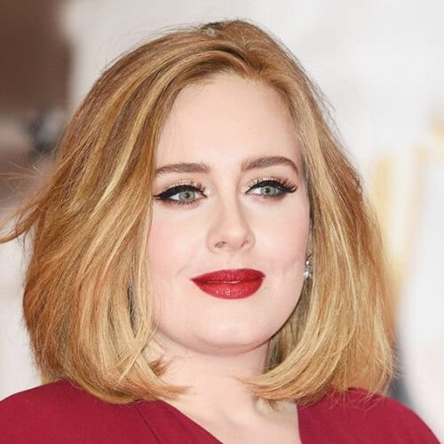 adele short haircuts for straight hair