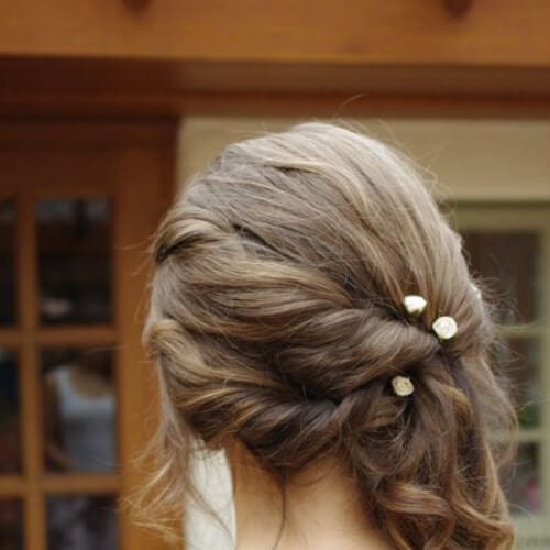 simple side hairstyles for prom