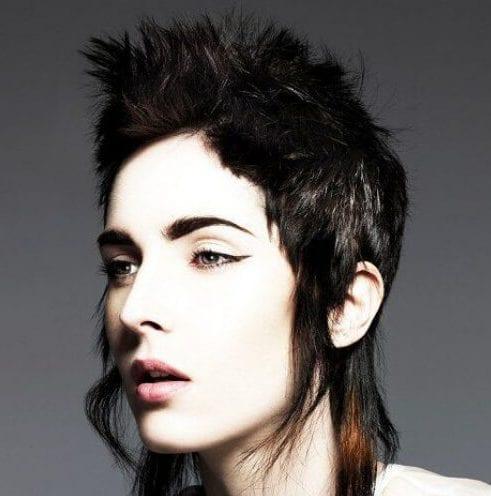 mullet short punk hairstyles