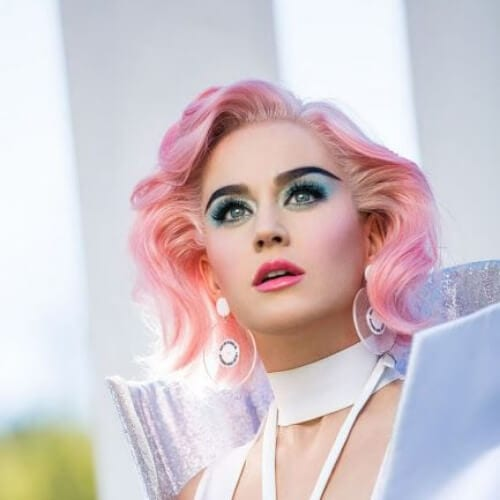 candy pink katy perry hairstyles