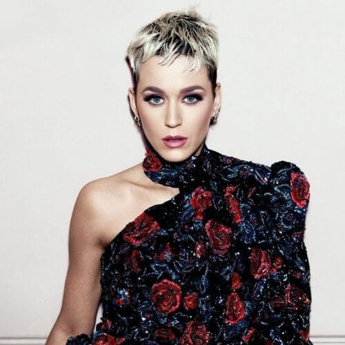 pixie cut katy perry hairstyles