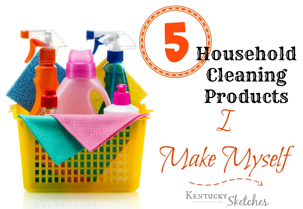 5 Household Cleaning Products I Make Myself