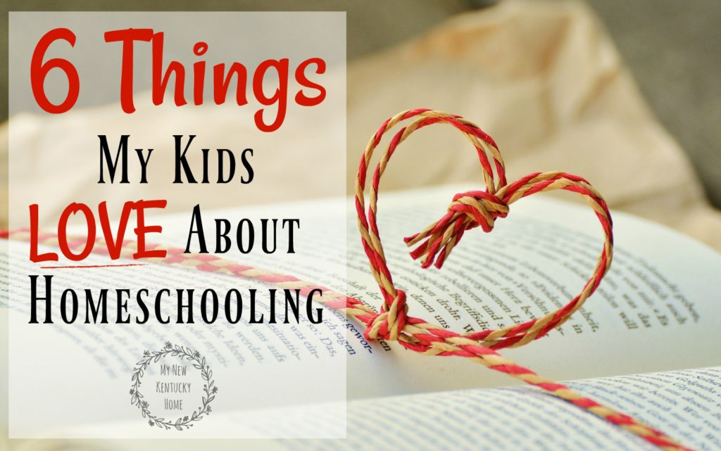 6 Things My Kids Love About Homeschooling