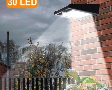 Top 10 Brightest LED Solar Outdoor Lights in 2018 Reviews