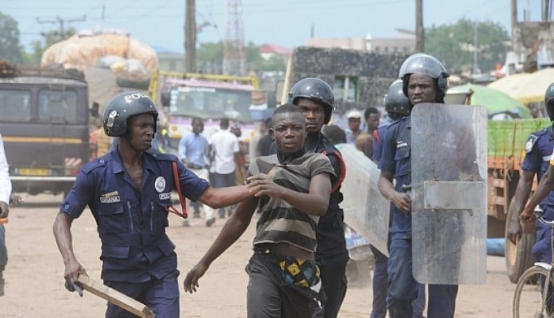Bimbilla Clashes: 17 Arrested, 8 Injured Several Houses Torched