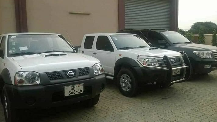 PHOTOS:Seized Vehicles of Kofi Adams