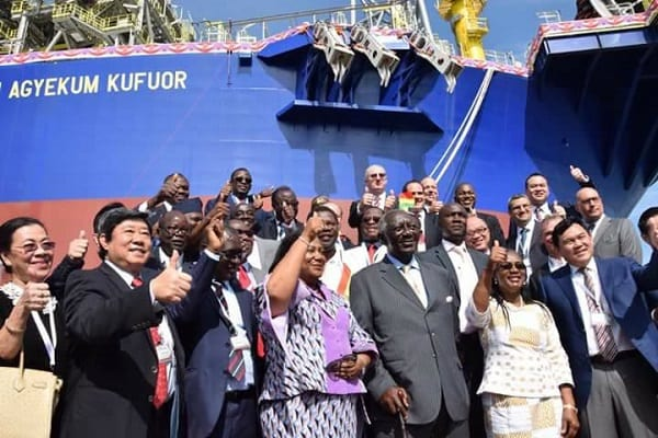 PHOTOS: FPSO John Agyekum Kufuor Commissioning
