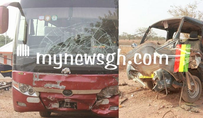 2 in critical condition in Near Fatal Accident at Lawra